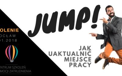 Szkolenie JUMP! Jak Uaktualnić Miejsce Pracy