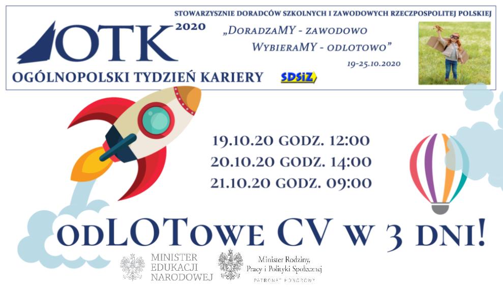 Ogólnopolski Tydzień Kariery w CSIPZ